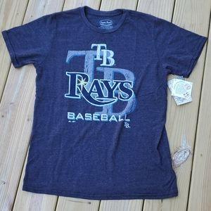 Men's Tampa Bay Rays T Shirt Size Large